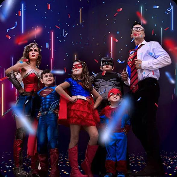 Super Heróis e Heroinas