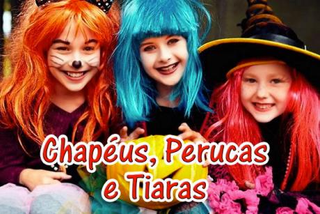 Chapéus, Perucas e Tiaras