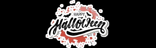 Banner Halloween Footer