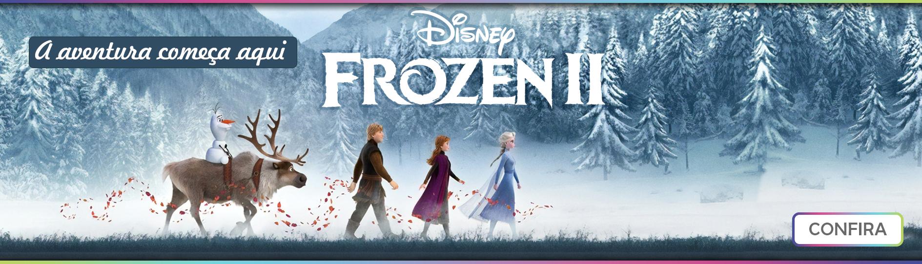 Banner principal Frozen