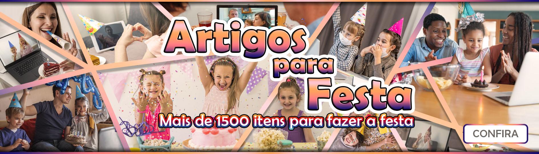 Banner Artigos para Festa
