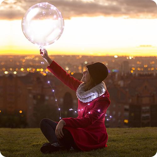 Balões Bubble