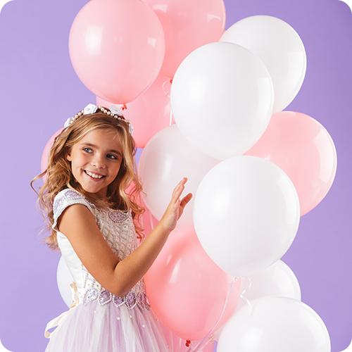 Balões em Latex