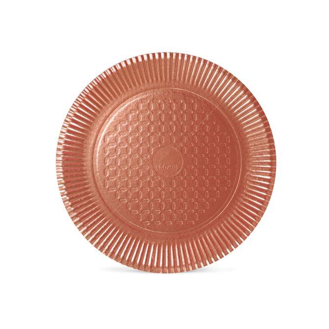 Prato Laminado Rosé Gold N4