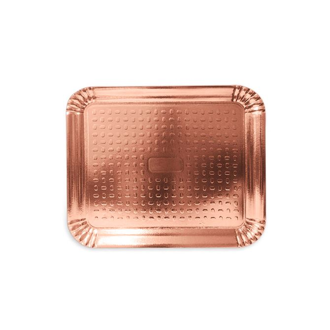 Bandeja Laminada Rosé Gold R3