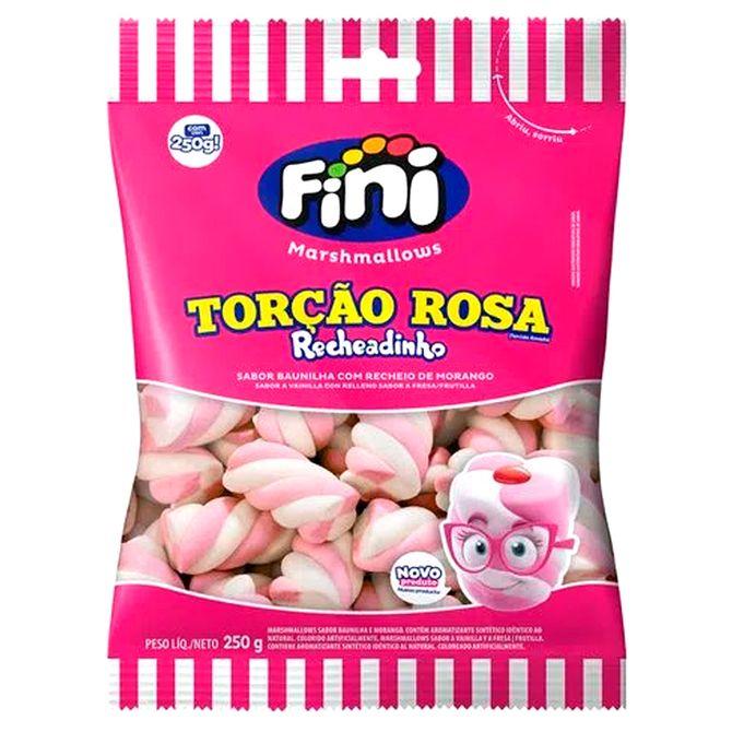 marshmallow recheado rosa