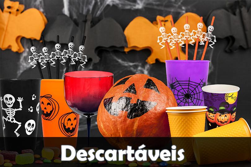 BannerDescartaveis de Halloween